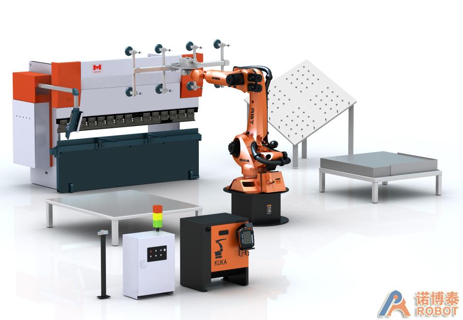 折弯机器人工作站