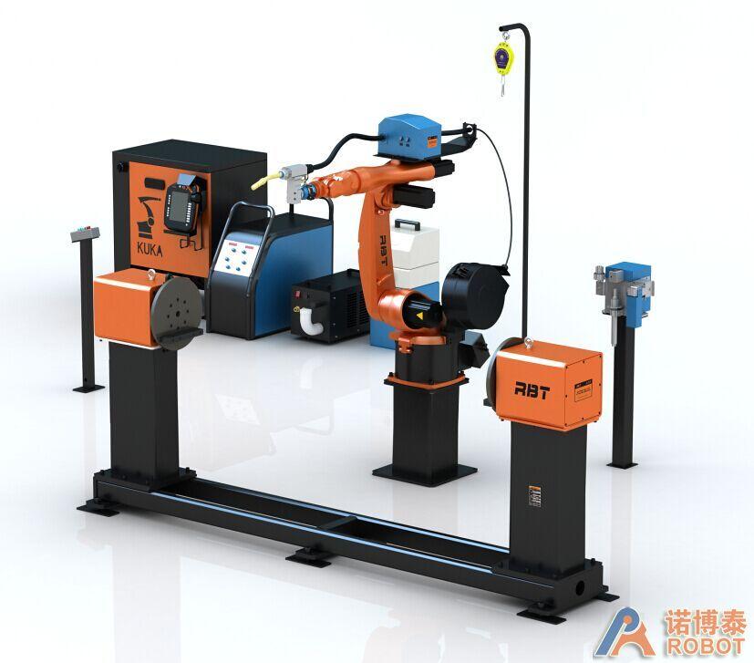 双脉冲弧焊包+联动头尾式变位机