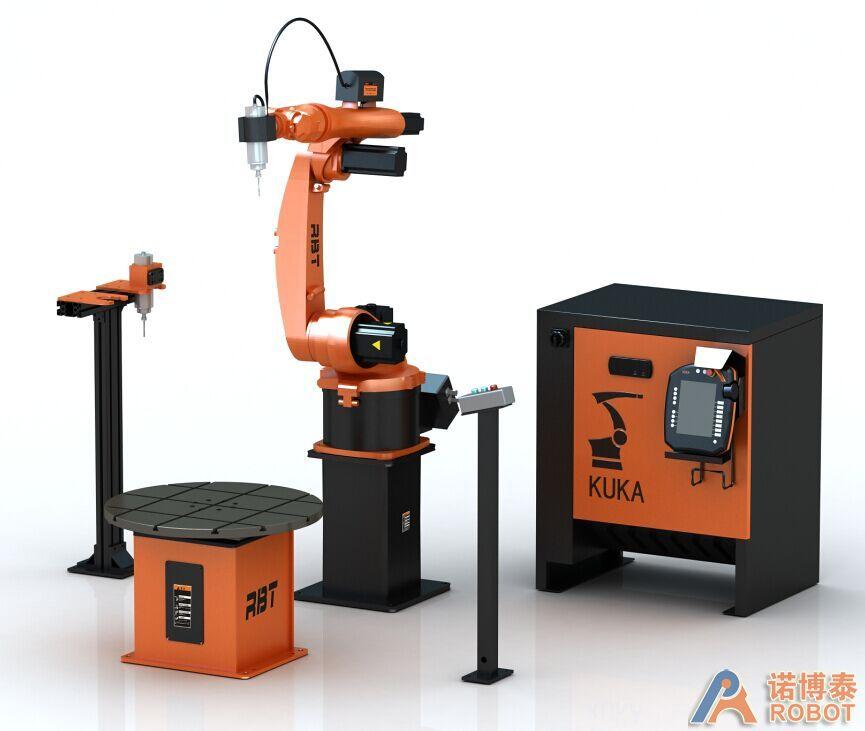 KR5 ARC机器人雕刻系统