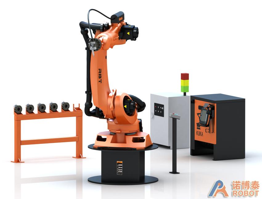 KR 210 机器人打磨系统