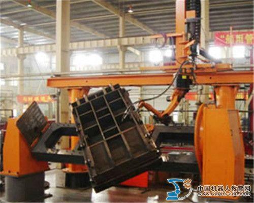 库卡机器人中厚板焊接系统集成